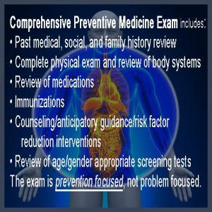 Annual Preventative Exam