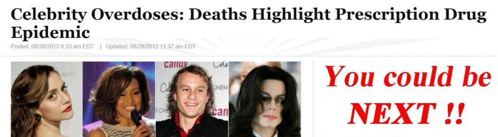 Celebrity Drug Overdose