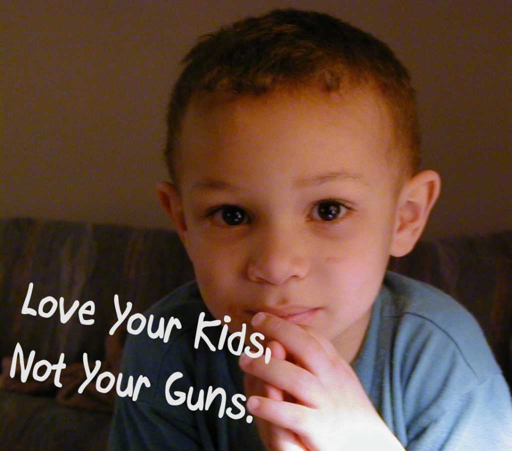 Love kids not guns