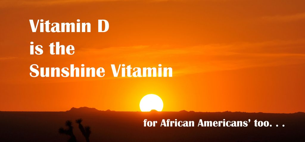 Low Vitamin D in African Americans